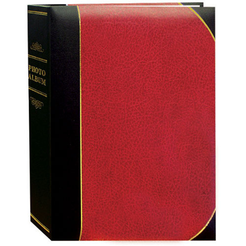 Pioneer Photo Albums BT46-R Ledger Le Memo Photo Album (Red)
