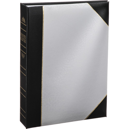 Pioneer Photo Albums BT46-W Ledger Le Memo Photo Album (White)