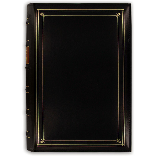 Pioneer Photo Albums BTA-204 Bonded Leather 3-Ring Album (Black)