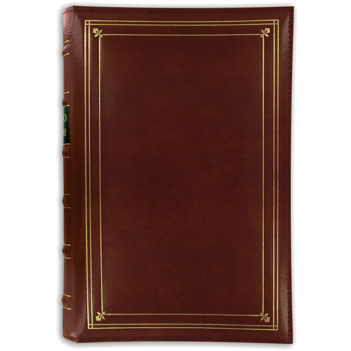 Pioneer Photo Albums BTA-204 Bonded Leather 3-Ring Album (Tan)