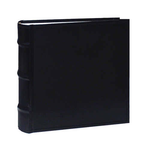 Pioneer Photo Albums CLB-146 Sewn Bonded Leather 100 Pocket Album (Black)