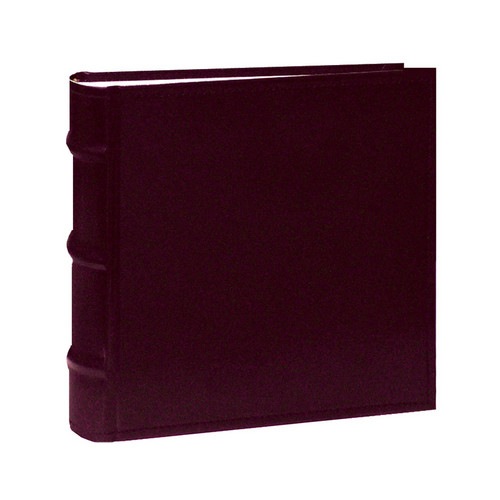 Pioneer Photo Albums CLB-146 Sewn Bonded Leather 100 Pocket Album (Burgundy)