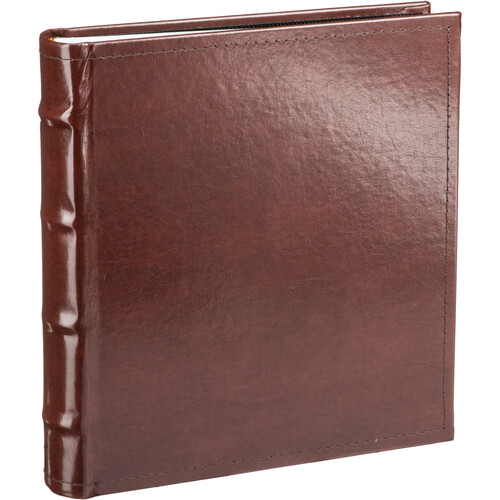 Pioneer Photo Albums CLB-246 Sewn Bonded Leather Bi-Directional 200 Pocket Album (Brown)