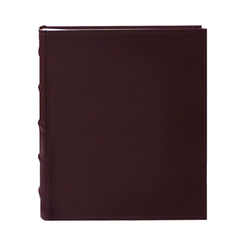 Pioneer Photo Albums CLB-246 Sewn Bonded Leather Bi-Directional 200 Pocket Album (Burgundy)