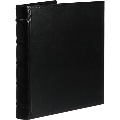 Pioneer Photo Albums CLB-257 Sewn Bonded Leather B-Directional 200 Pocket Album (Black)