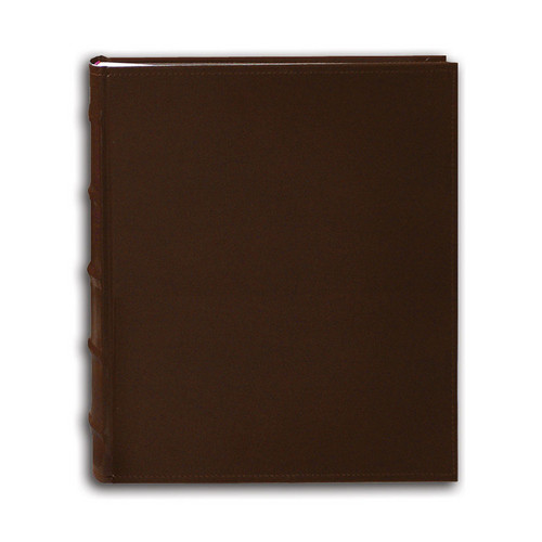 Pioneer Photo Albums CLB-257 Sewn Bonded Leather B-Directional 200 Pocket Album (Brown)
