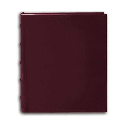 Pioneer Photo Albums CLB-257 Sewn Bonded Leather B-Directional 200 Pocket Album (Burgundy)