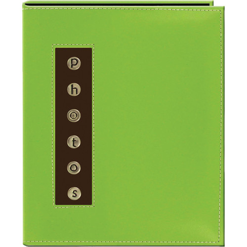 Pioneer Photo Albums CMB-46 Metal Buttons Brag Photo Album (Green)