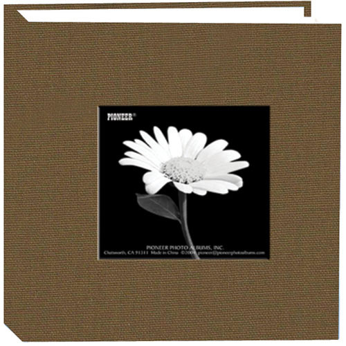 Pioneer Photo Albums DA-100CBF Cloth Frame Album (Warm Mocha)