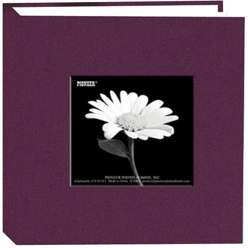 Pioneer Photo Albums DA-100CBF Cloth Frame Album (Wildberry Purple)