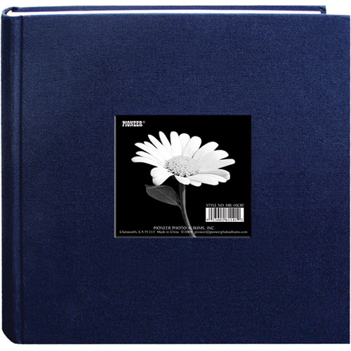 "Pioneer Photo Albums DA-200CBF Cloth Frame Album - 4 x 6"" (Regal Navy)"
