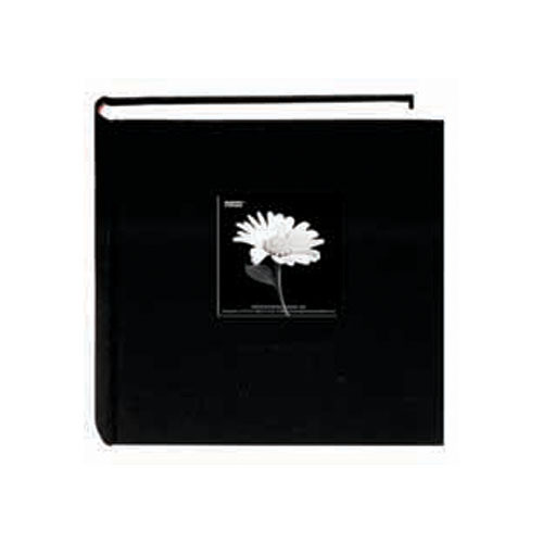 Pioneer Photo Albums DA-200CBF Bi-Directional Cloth Frame Album (Deep Black)