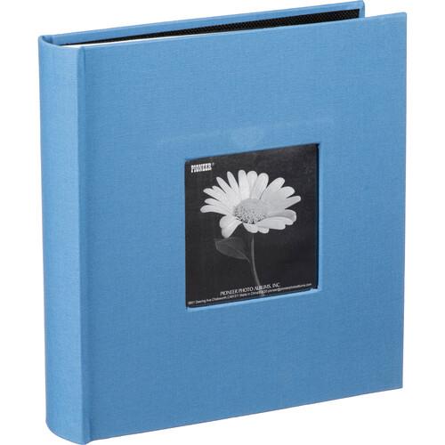 Pioneer Photo Albums DA-200CBF Bi-Directional Cloth Frame Album (Sky Blue)