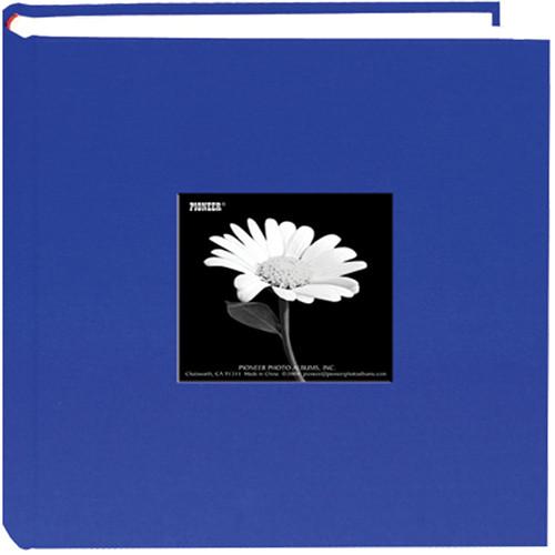 Pioneer Photo Albums DA200CBFS-CB Specialty Fabric Frame Bi-Directional Photo Album (Cobalt Blue)
