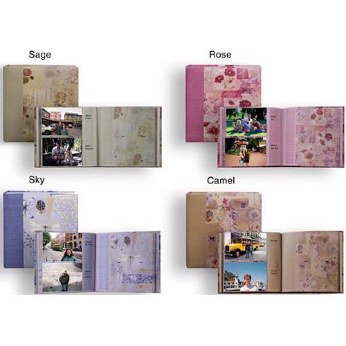Pioneer Photo Albums DA-200D Bella Fabric Ribbon Designer Page Memo Album