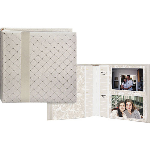Pioneer Photo Albums DA-200FDR Wedding Designer Memo Album (Ivory)