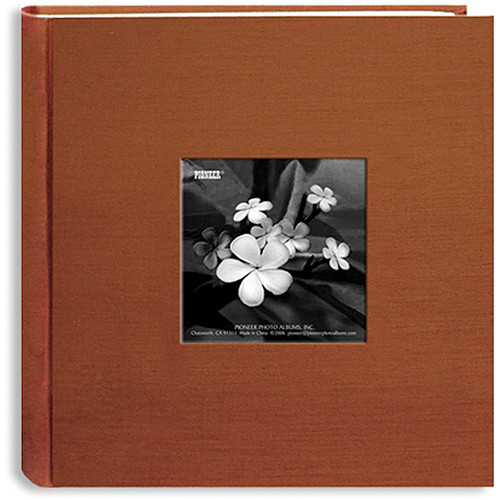 Pioneer Photo Albums DA200SKF-CO Silk Frame Bi-Directional Photo Album (Copper)
