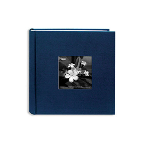 Pioneer Photo Albums DA200SKF-L Silk Frame Bi-Directional Photo Album (Lagoon)
