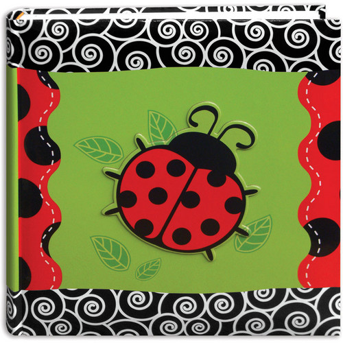 Pioneer Photo Albums DA200/LB Applique Designer Bi-Directional Memo Album (Ladybug)
