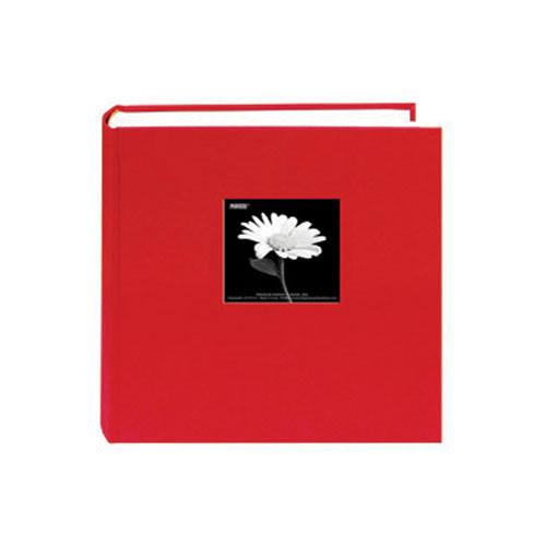 Pioneer Photo Albums DA-257CBF Fabric Frame Bi-Directional Memo Album (Apple Red)