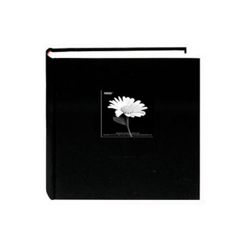 Pioneer Photo Albums DA-257CBF Fabric Frame Bi-Directional Memo Album (Deep Black)