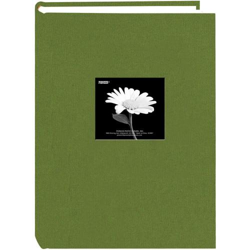 Pioneer Photo Albums DA-300CBF Fabric Frame Bi-Directional Memo Album (Hunter Green)