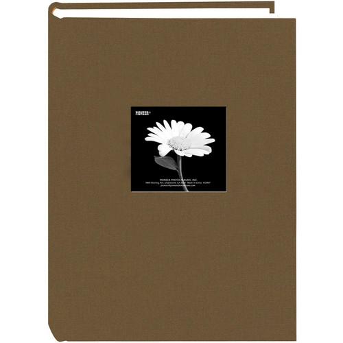Pioneer Photo Albums DA-300CBF Fabric Frame Bi-Directional Album (Warm Mocha)