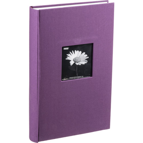 Pioneer Photo Albums DA-300CBF Fabric Frame Bi-Directional Memo Album (Wildberry Purple)