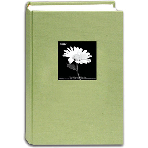 Pioneer Photo Albums DA-300CBF Fabric Frame Bi-Directional Memo Album (Sage Green)