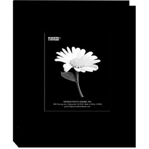 Pioneer Photo Albums DA-46CBF Mini Fabric Frame Album (Deep Black)