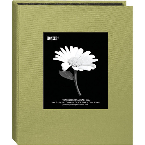 Pioneer Photo Albums DA-46CBF Mini Fabric Frame Album (Sage Green)
