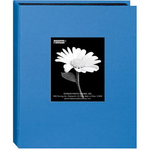 Pioneer Photo Albums DA-57CBF Mini Fabric Frame Album (Sky Blue)