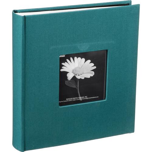 Pioneer Photo Albums DA-200CBF Bi-Directional Cloth Frame Album (Majestic Teal)