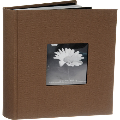 Pioneer Photo Albums DA-200CBF Bi-Directional Cloth Frame Album (Warm Mocca)