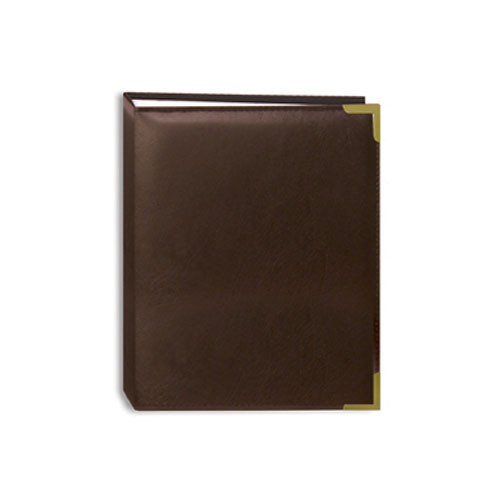 Pioneer Photo Albums E4-100 Oxford Series Photo Album (Brown)