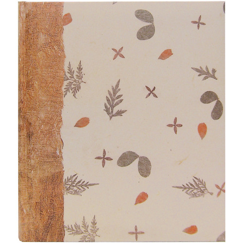 Pioneer Photo Albums ECO-257 Eco Natural Paper Bi-Directional Memo Album (Mulberry)
