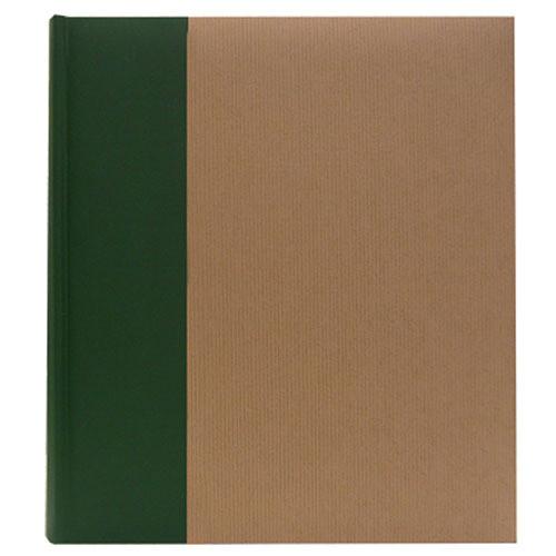 Pioneer Photo Albums ECO-257 Eco Natural Paper Bi-Directional Memo Album (Ribbed)