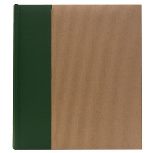 Pioneer Photo Albums ECO-257 Eco Natural Paper Bi-Directional Memo Album (Ribbed)