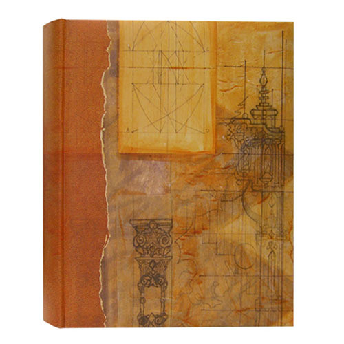 Pioneer Photo Albums ECO-257 Eco Natural Paper Bi-Directional Memo Album (Vintage)