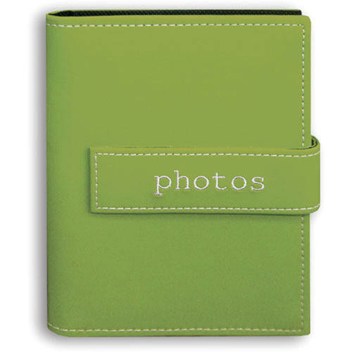 Pioneer Photo Albums EXP46-SGP Expressions Embroidered Touch Fastened Photo Album (Sage Green Photos)