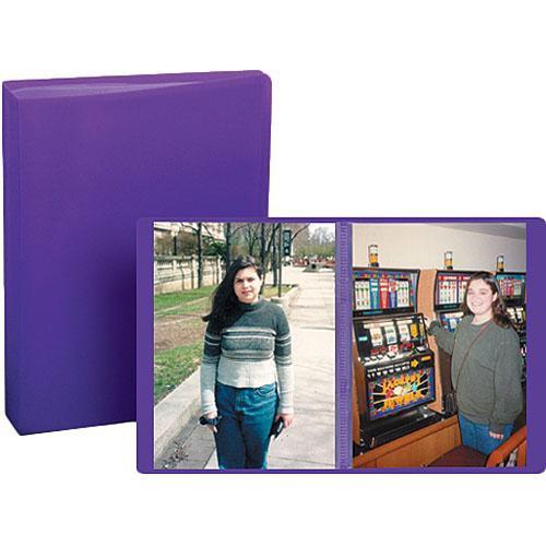 "Pioneer Photo Albums Transparent Poly Photo Album - 4 x 6"" (Random Color)"