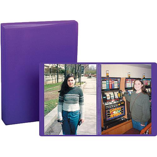 "Pioneer Photo Albums Transparent Poly Photo Album - 4 x 6"" (Random Color)"