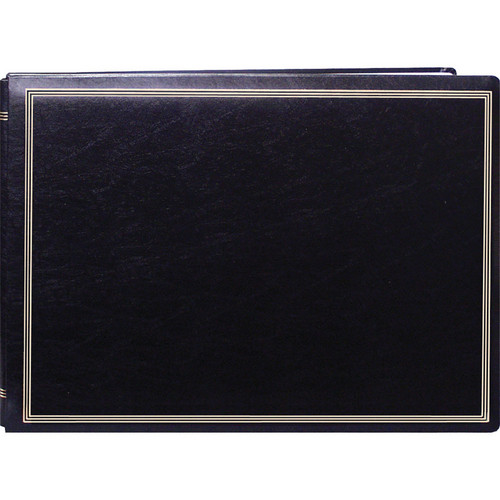 Pioneer Photo Albums JMV-207 Magnetic Page X-Pando Photo Album (Black)