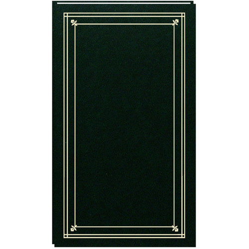 Pioneer Photo Albums Slim Line Post Style Pocket Album (Hunter Green)