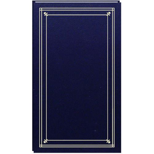 Pioneer Photo Albums Slim Line Post-Style Pocket Album (Navy Blue)