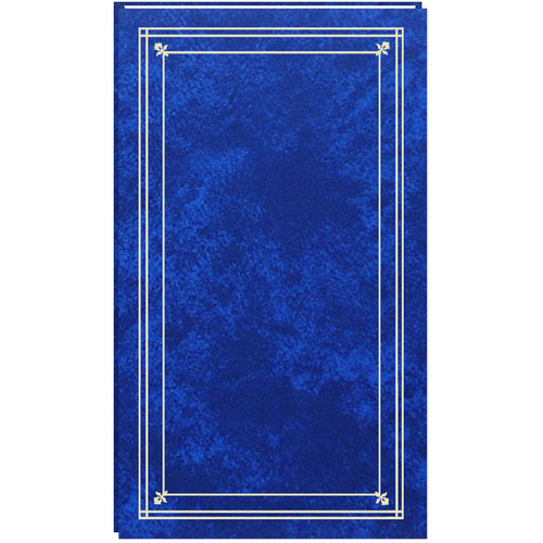 Pioneer Photo Albums Slim Line Post Style Pocket Album (Royal Blue)