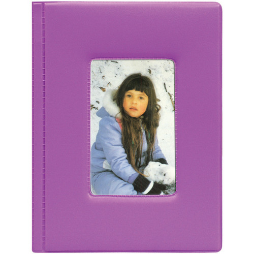 Pioneer Photo Albums KZ-46 Frame Cover Album (Purple)