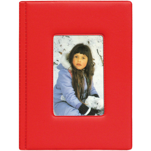 Pioneer Photo Albums KZ-46 Frame Cover Album (Red)