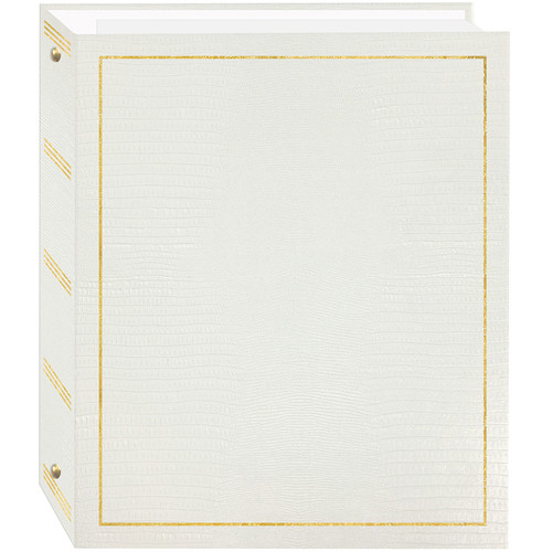 Pioneer Photo Albums Promotional 100 Magnetic Three-Ring Album - White Cover