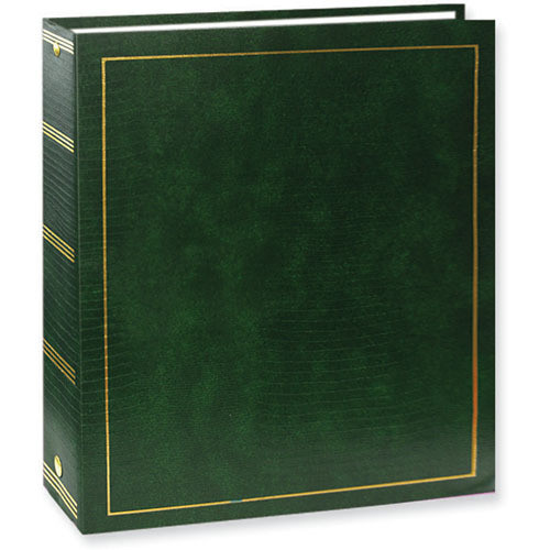 Pioneer Photo Albums LM-100 Promotional 100 Page Magnetic 3-Ring Album (Hunter Green)